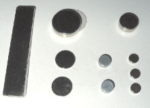 Self adhesive neodymium disc (super) magnets